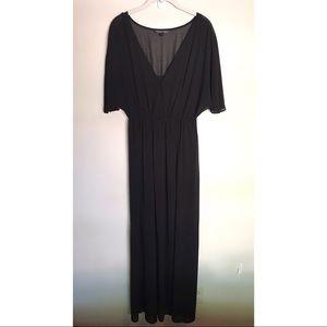 Felicity & Coco Full Length Black Dress
